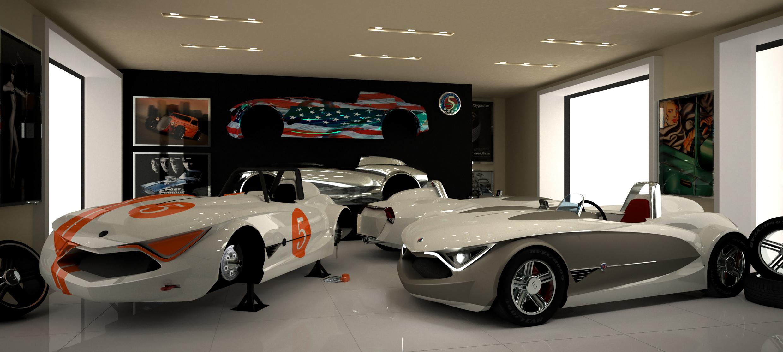 Kit Car 3d art