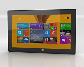 3D model of Microsoft Surface Pro 2