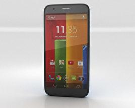 Motorola Moto G Cyan 3D model