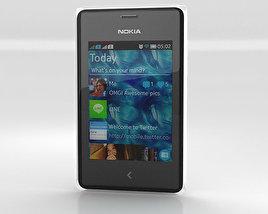 3D model of Nokia Asha 502