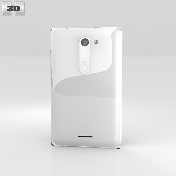 Nokia Asha 502 3d model