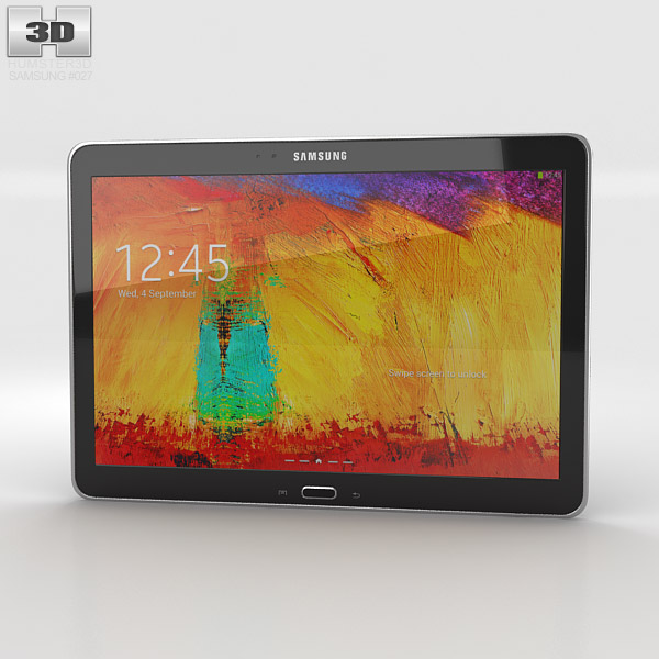 Samsung Galaxy Note 10.1 2014 Edition 3d model