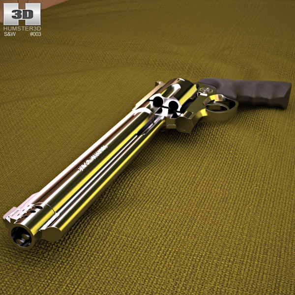 Smith & Wesson 460 XVR 3d model