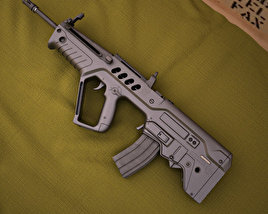3D model of IMI Tavor TAR-21