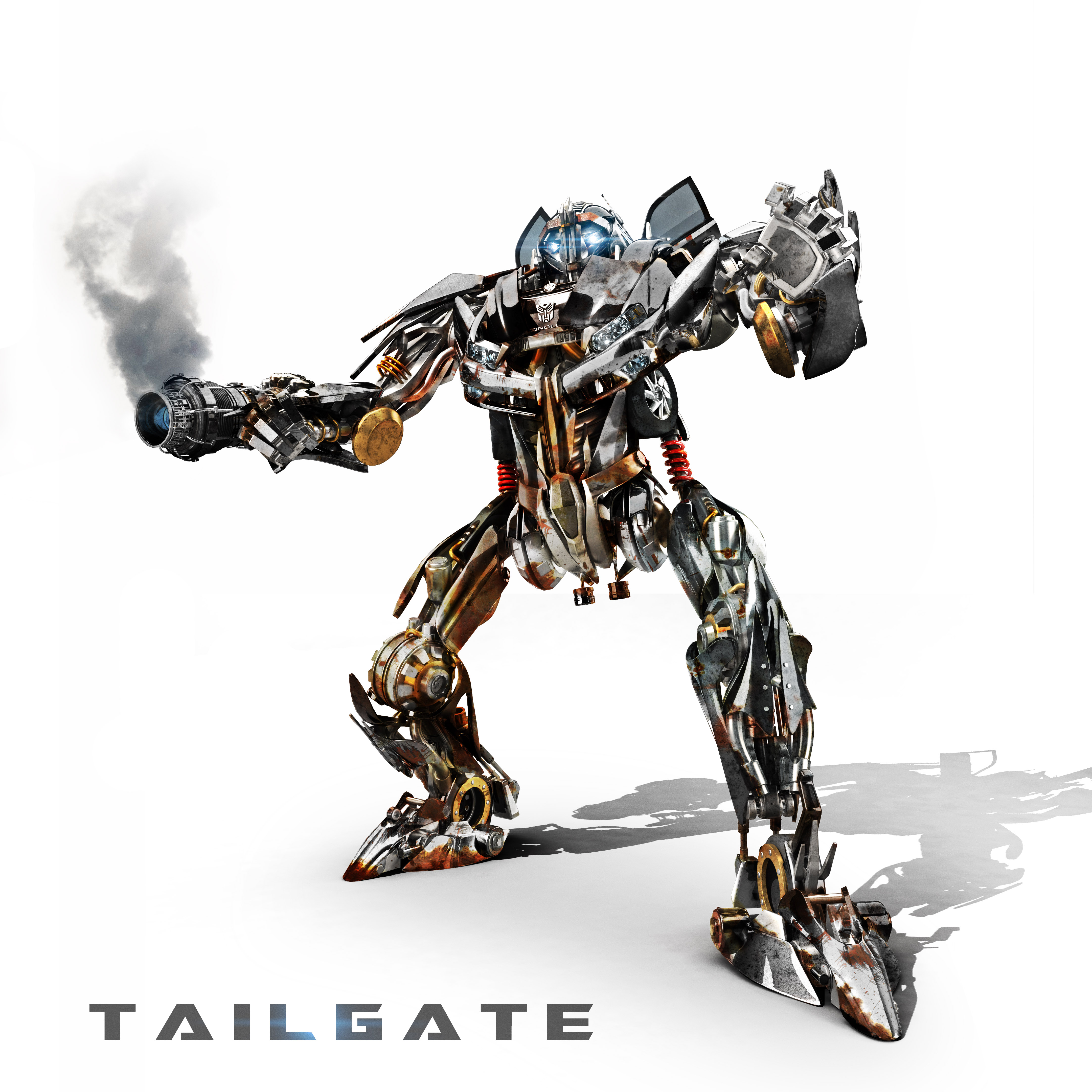 Transformer: Tailgate 3d art