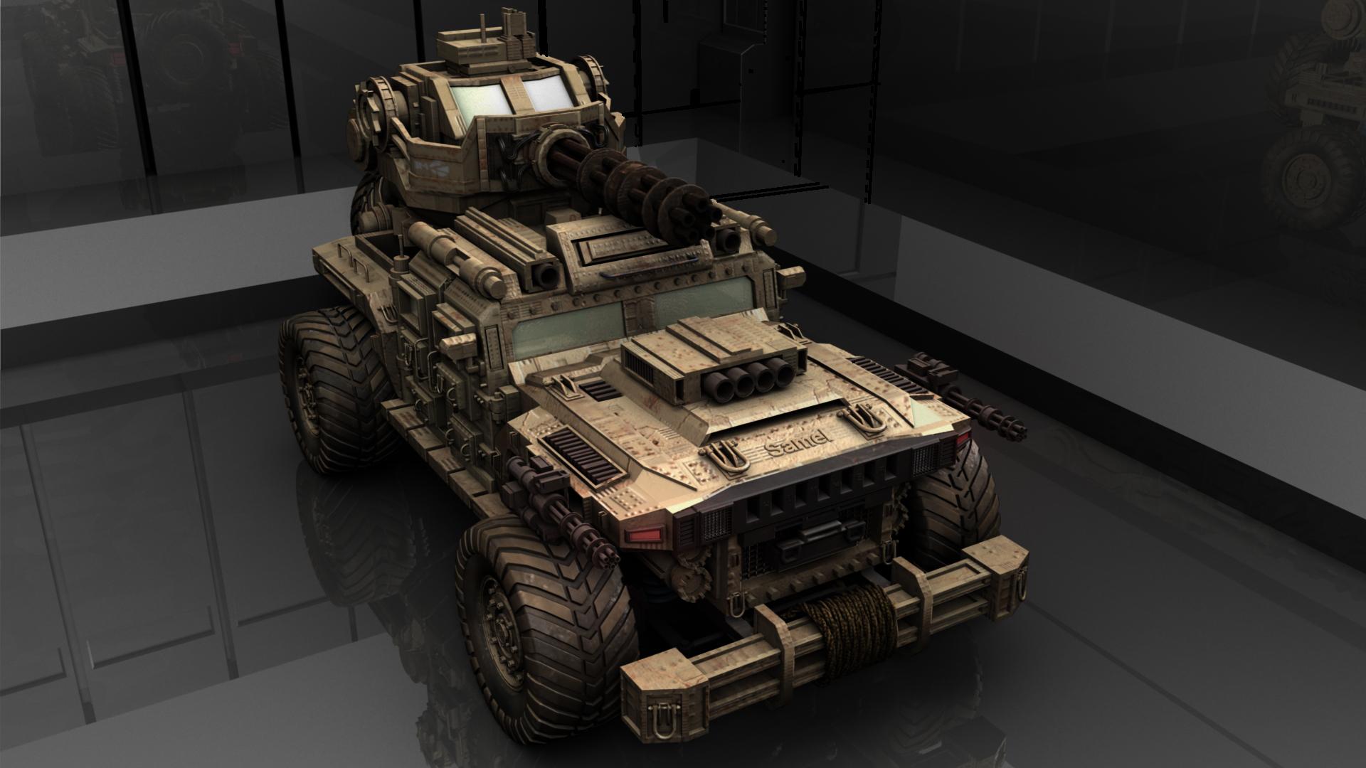 The War Machine 3d art
