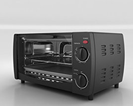 3D model of Toaster Oven Westinghouse WTO1010B