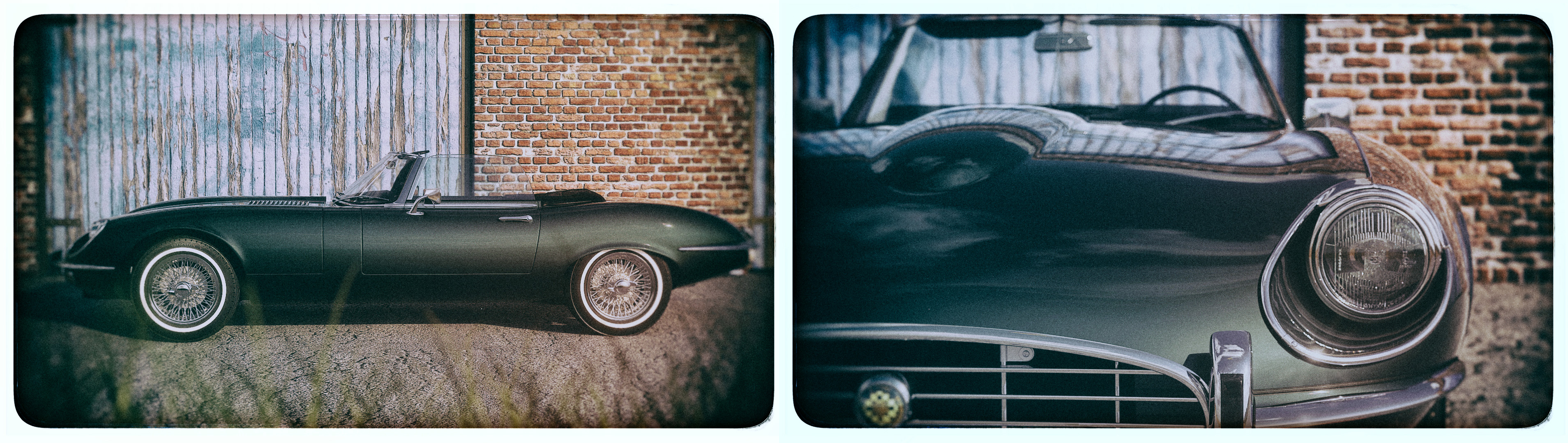 1970 Jaguar E-type 3d art