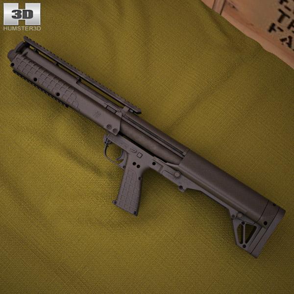 3D model of Kel-Tec KSG