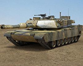 3D model of M1A2 Abrams