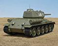 T-34-85 3d model