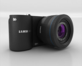 3D model of Samsung NX1000