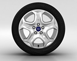 3D model of Ford Focus Wheel 15 inch 001