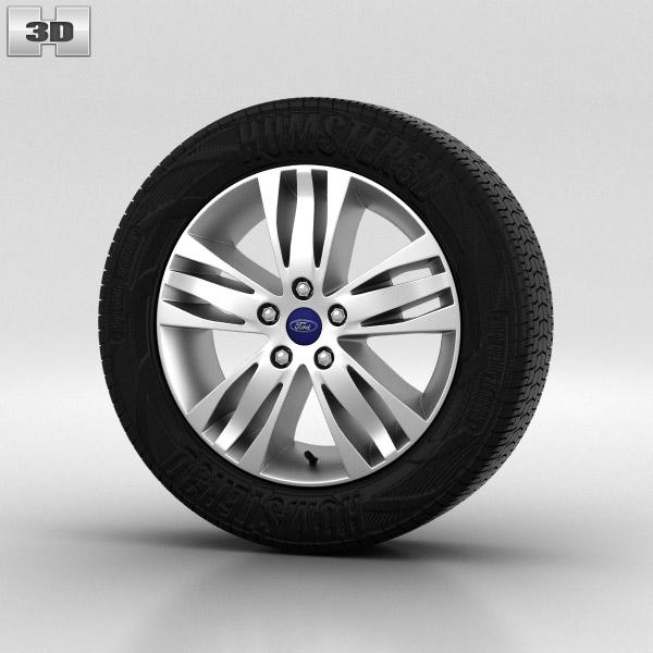 Ford Focus Wheel 16 inch 003 3d model