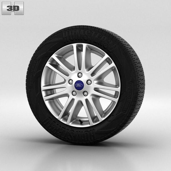 Ford Focus Wheel 16 inch 004 3d model