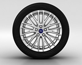 3D model of Ford Focus Wheel 17 inch 002