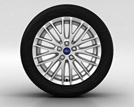 Ford Focus Wheel 17 inch 002 3D model