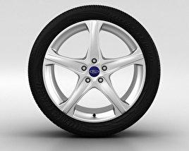 Ford Focus Wheel 18 inch 002 3D model
