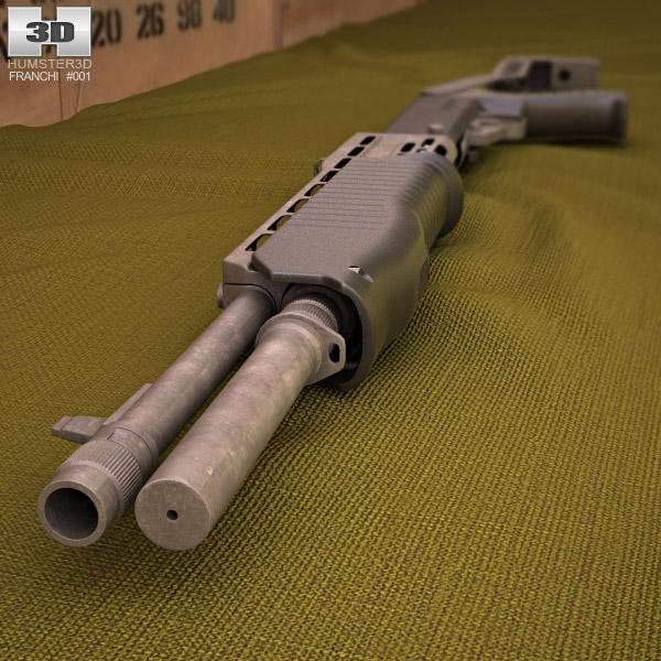 Franchi SPAS-12 3d model
