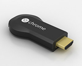 3D model of Google Chromecast