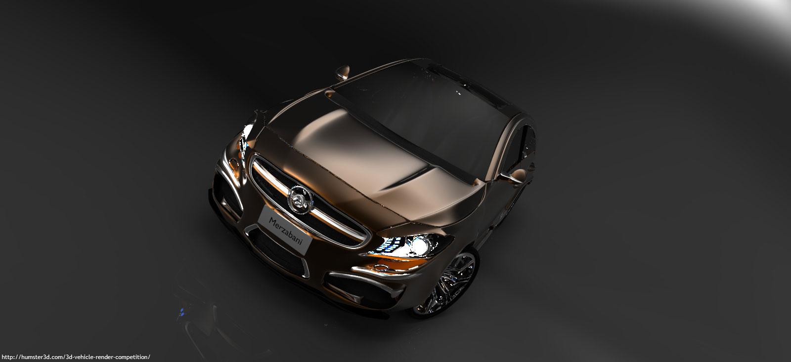 Imaginary car 3d art