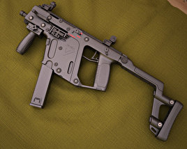 3D model of KRISS Vector SMG