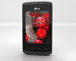 LG Optimus L1 II (E410) 3D model