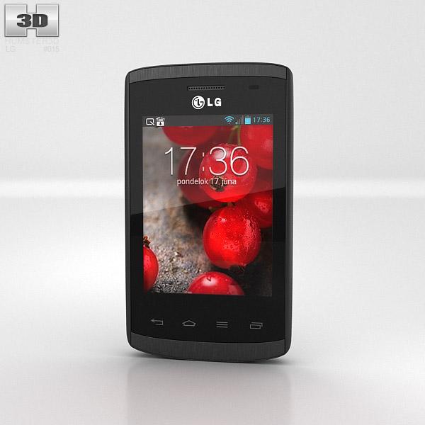 LG Optimus L1 II (E410) 3d model