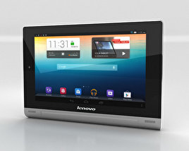 3D model of Lenovo Yoga Tablet 10