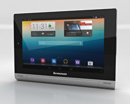3D model of Lenovo Yoga Tablet 8