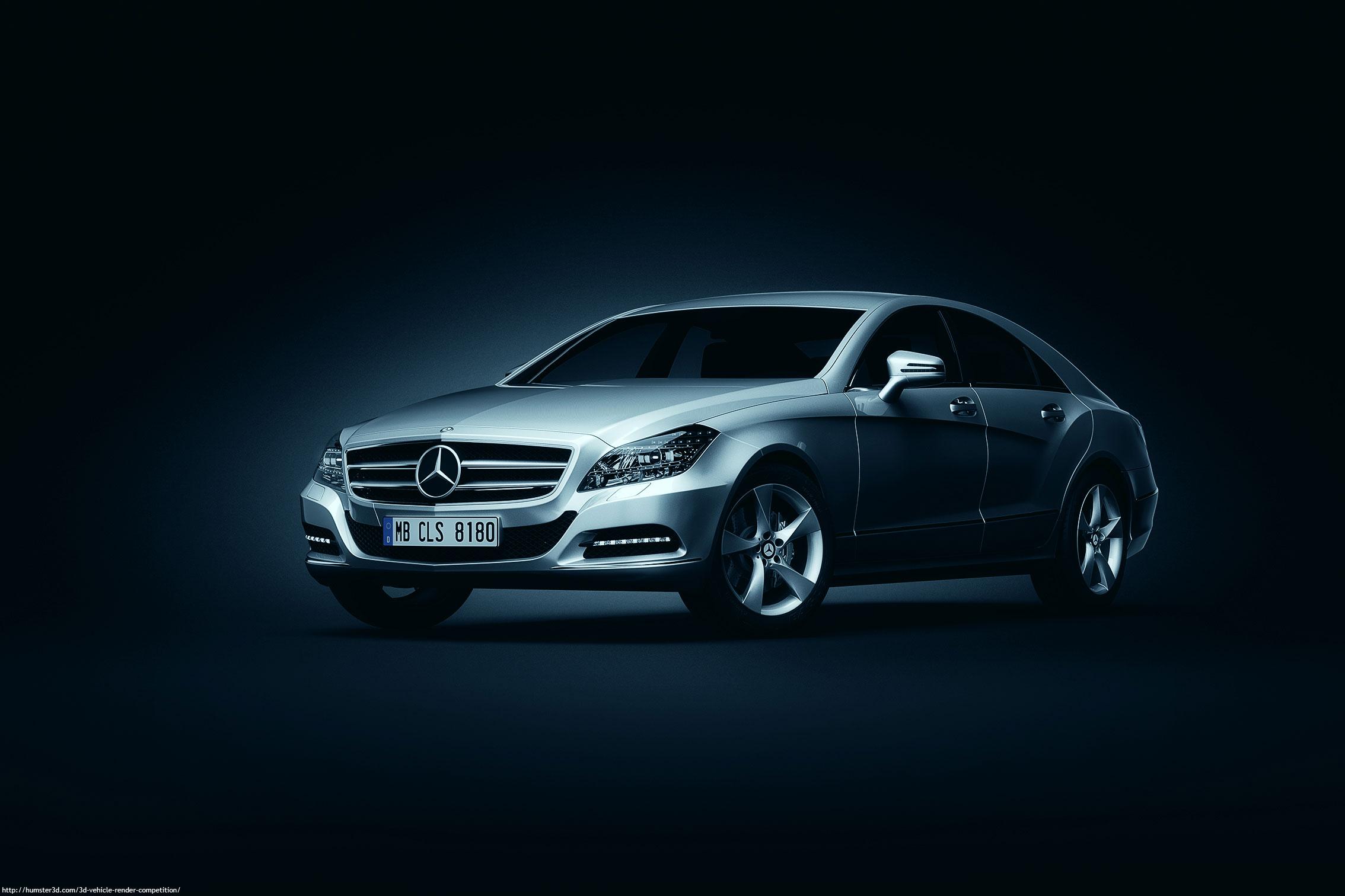 Mercedes Benz CLS 3d art