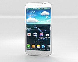 3D model of Samsung Galaxy Mega 5.8 White