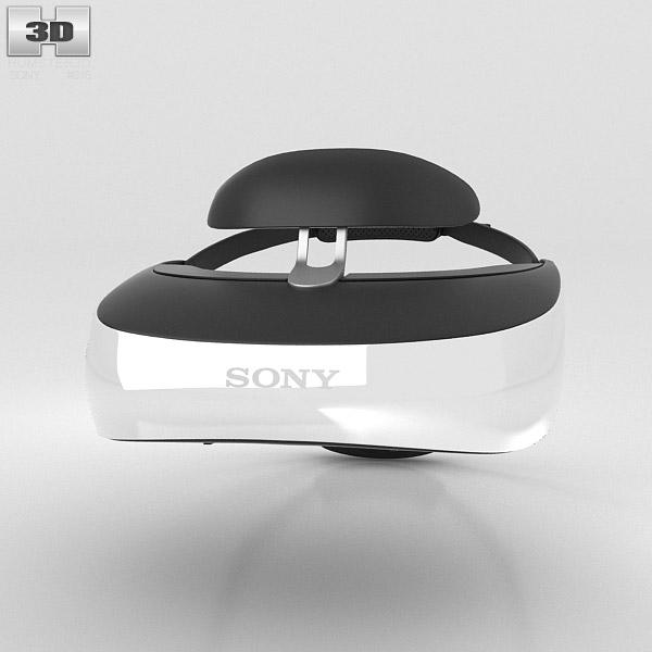 Sony HMZ-T3 3D model