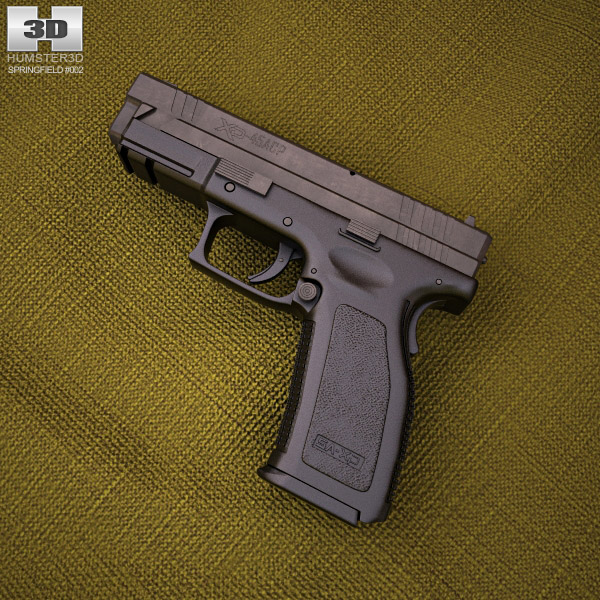 3D model of Springfield Armory XD (HS2000) 4 inch