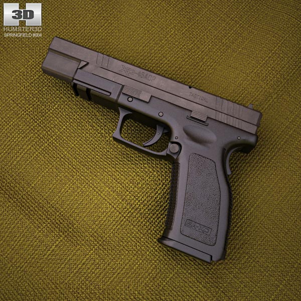 3D model of Springfield Armory XD (HS2000) 5 inch