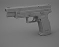 Springfield Armory XD (HS2000) 5 inch 3d model