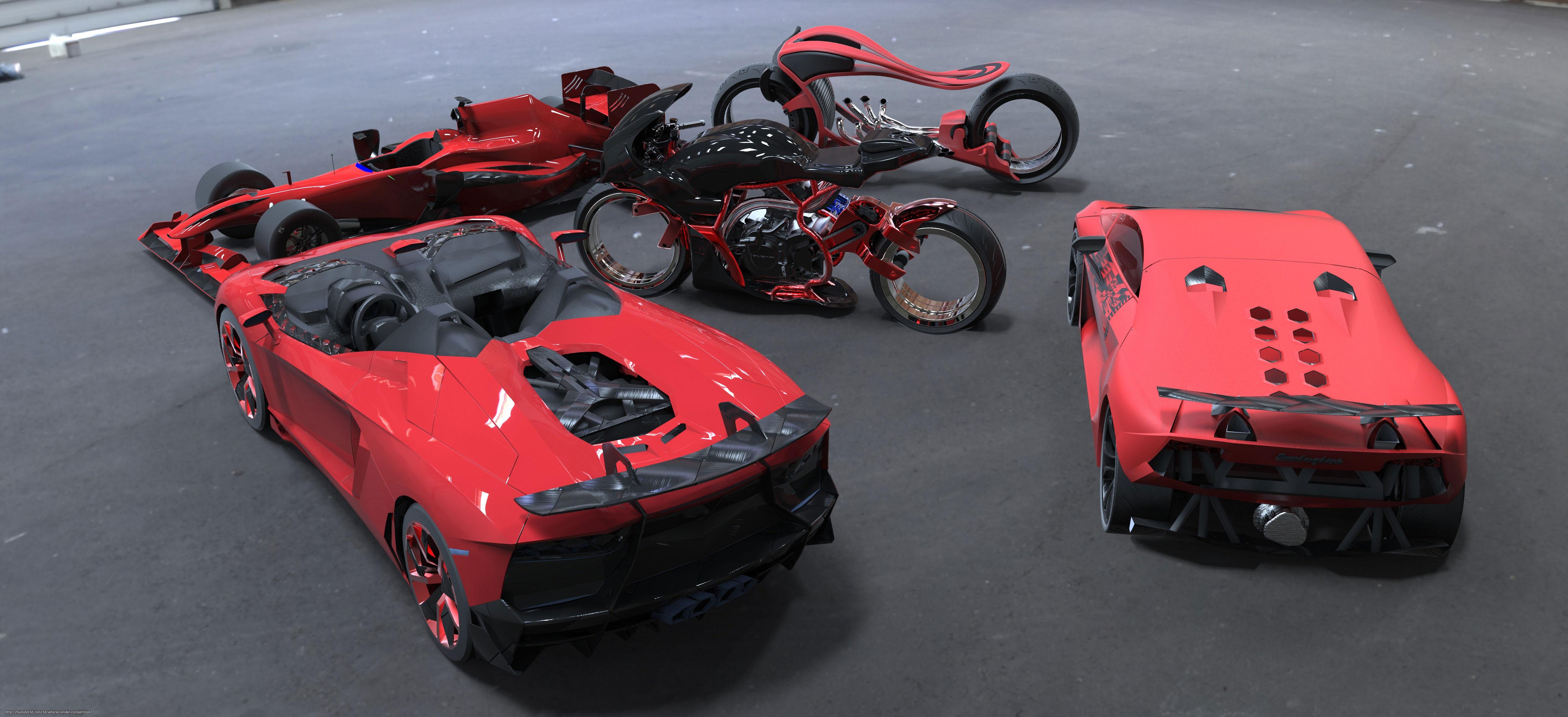 All my models 3d art