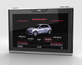 3D model of Audi Smart Display