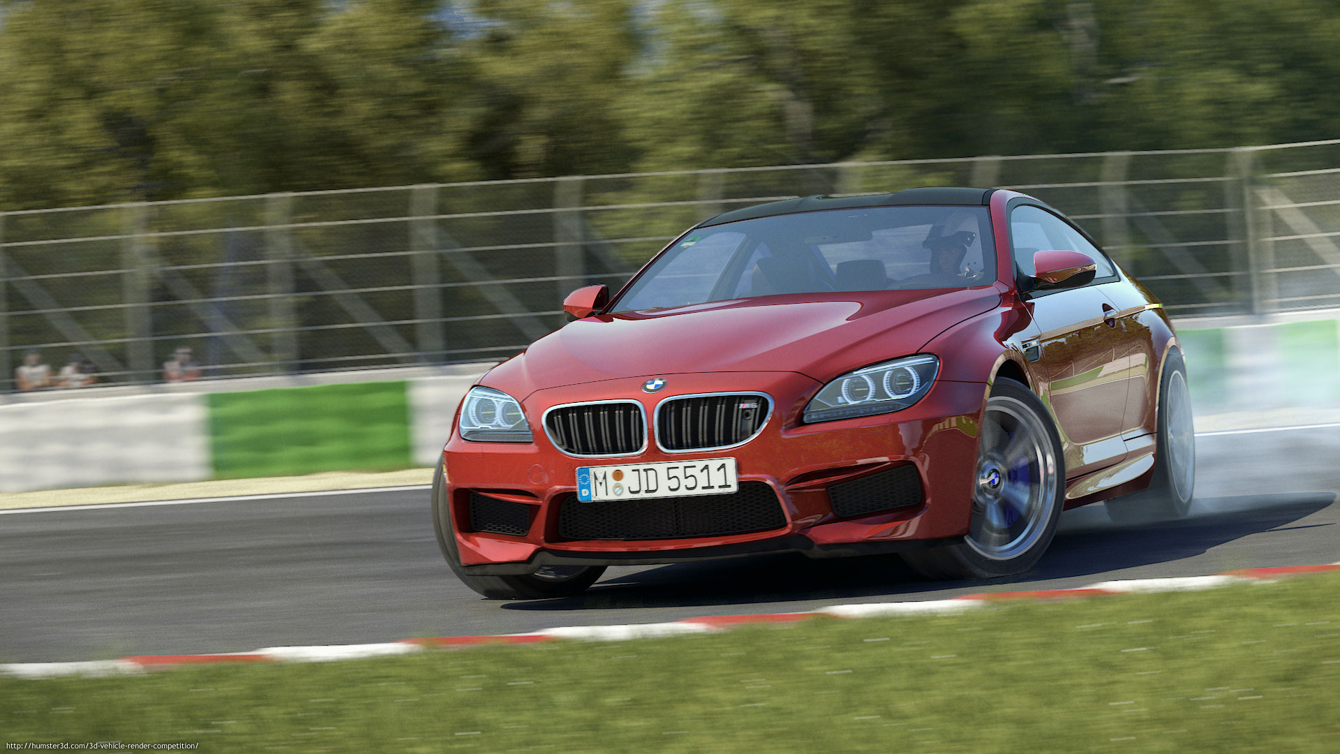 BMW M6 3d art