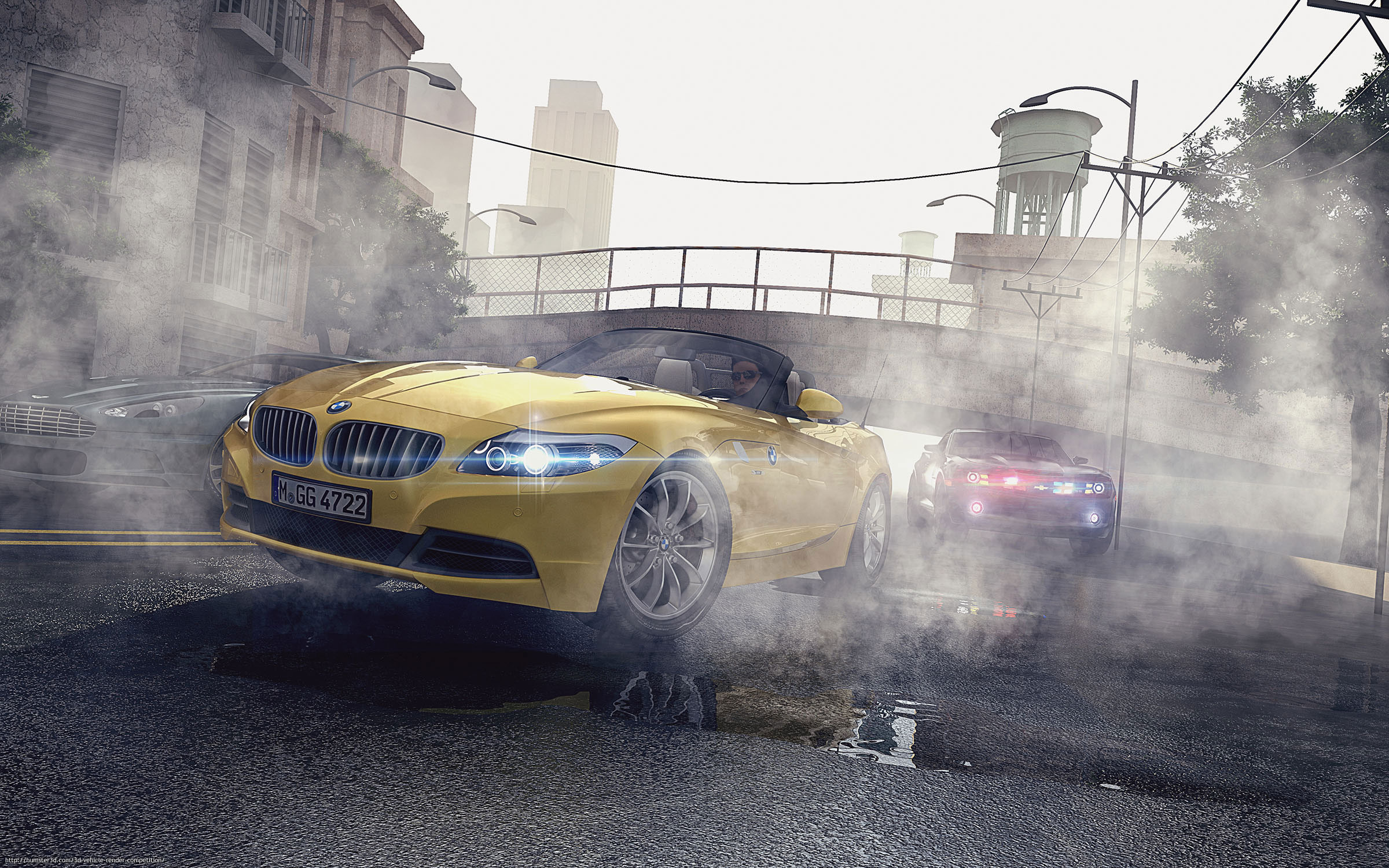 BMW Z4 2010 3d art