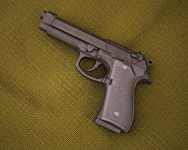 3D model of Beretta M9
