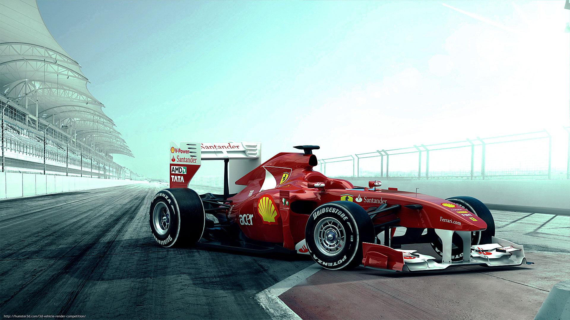 F1 3d art