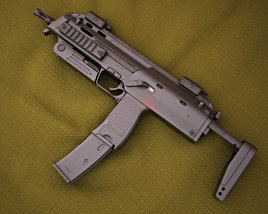 3D model of Heckler & Koch MP7