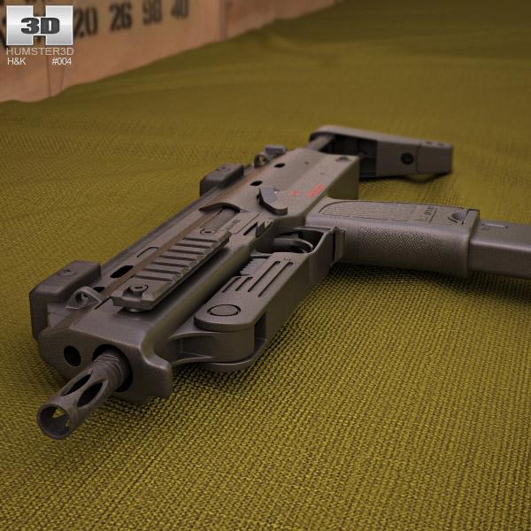Heckler & Koch MP7 3d model