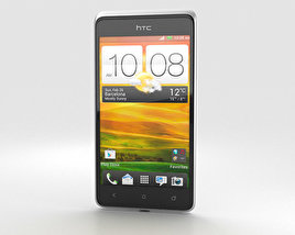 3D model of HTC Desire 400 White