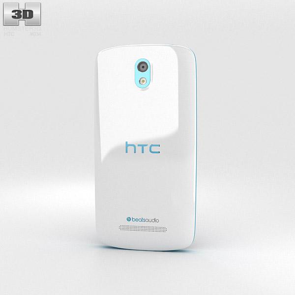 HTC Desire 500 Glacier Blue 3d model