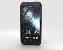 3D model of HTC Desire 601 Black