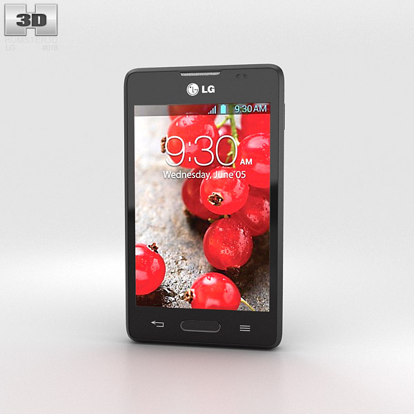 LG Optimus L4 II E440 3d model