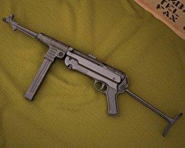 3D model of MP 40