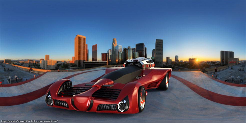 Next Gen car 3d art